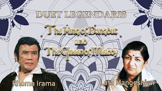 Download DUET LEGENDARIS RHOMA IRAMA & LATA MANGESHKAR [FULL ALBUM]