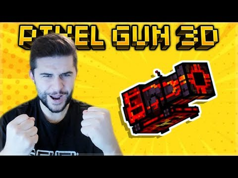 Pixel Gun 3D | It Took Me 1 YEAR To Review The Volcano Big Buddy!