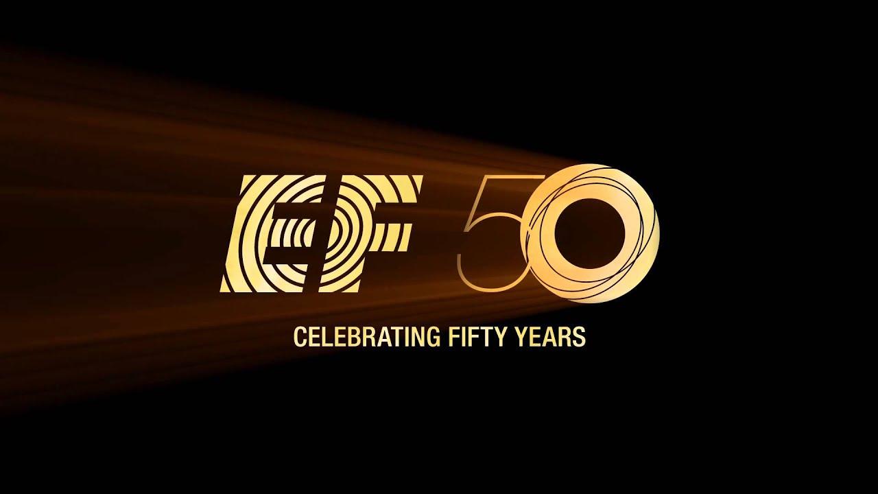 EF Celebrating 50 Years ‒ Logo Animation - YouTube