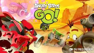 Angry birds go (баги, трюки) #1