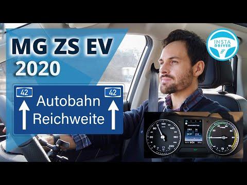 MG ZS EV (2020) - Der Reichweiten-Test - Verbrauch, Autobahn (Winter)