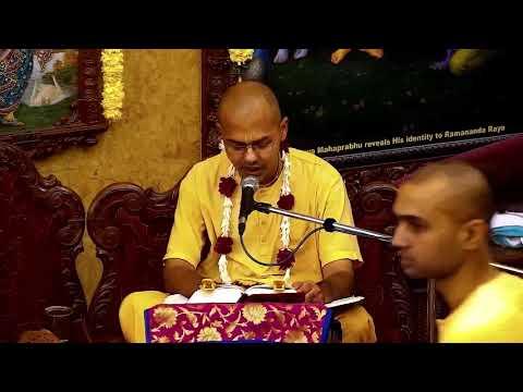 Janmastami Festival-Supreme Position Of Krishna by Radhika Vallabh Prabhu at ISKCON Chowpatty
