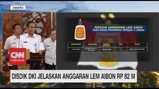 Disdik DKI Jelaskan Anggaran Lem Aibon Rp. 82 M