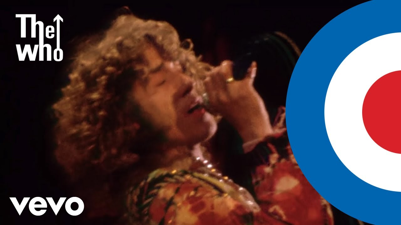 The Who perform 'Pinball Wizard' at the Isle of Wight Festival 1970