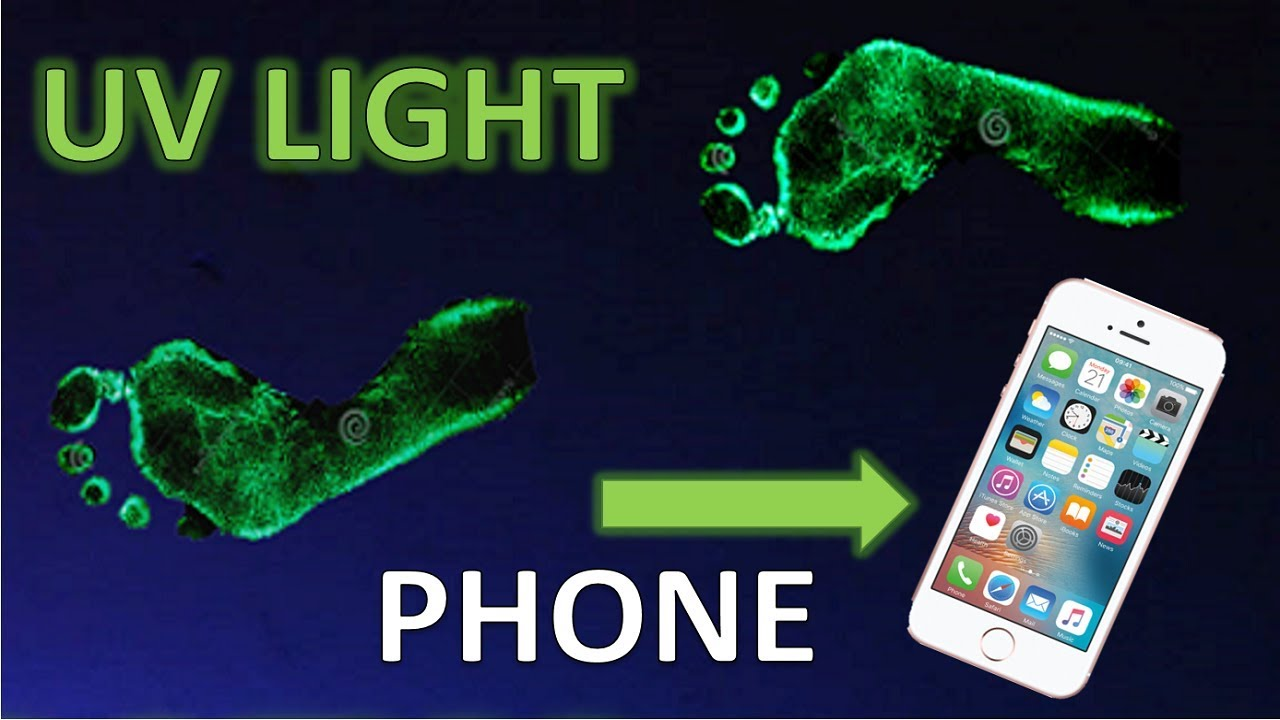 Black Light With Your Cell Phone