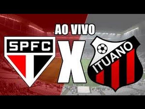 São Paulo x Ituano ao vivo em HD