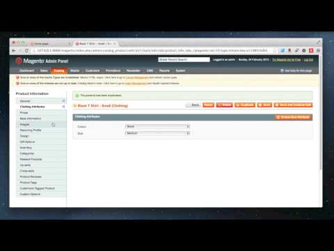 Magento - How to add a configurable product