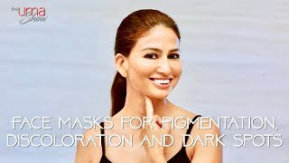Face Masks For Pigmentation, Discoloration and Dark Spots | HomeMade Face Masks