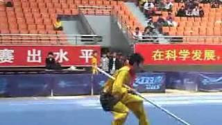 2010年全国武术套路锦标赛(传统)M20 002 男子猴棍 刘亮武