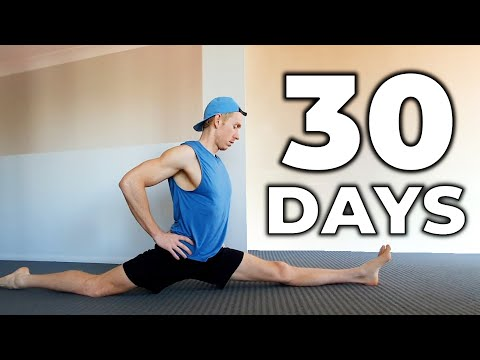 How I Learned The Full Splits In 30 Days