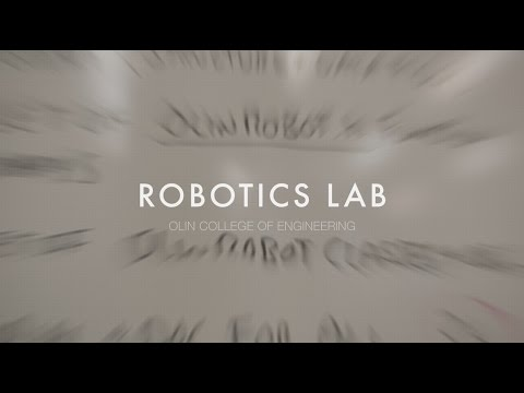 An Introduction to the Olin College Robotics Lab