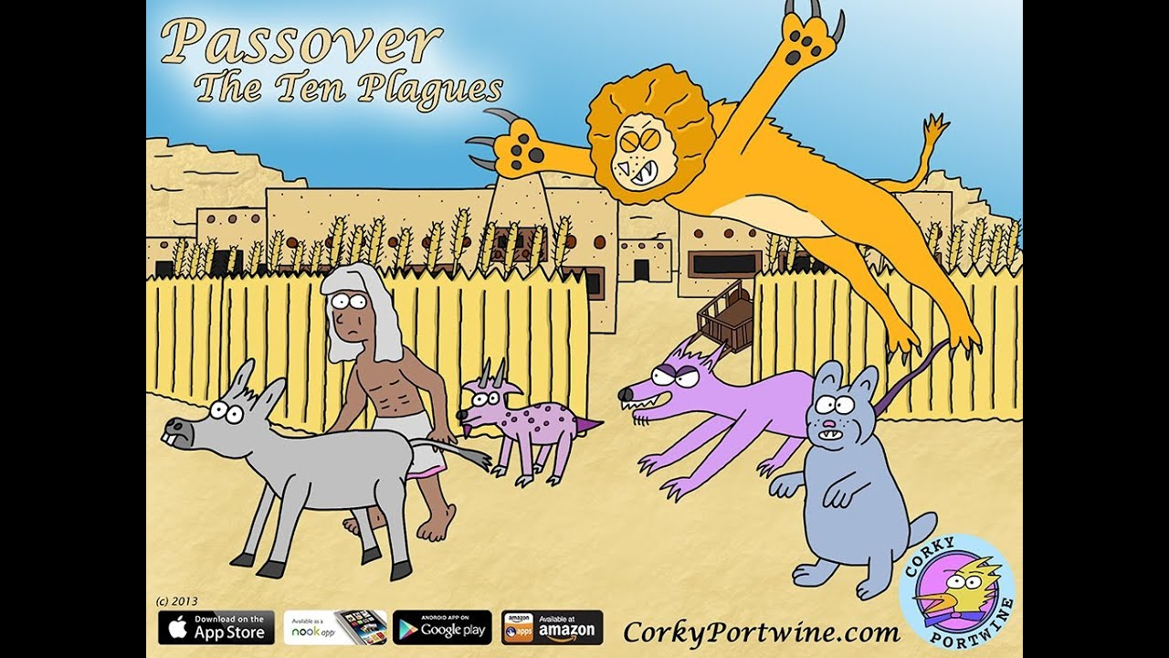 passover the ten plagues wild animals youtube