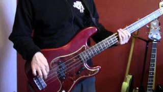 "MATHIEU LEGER PLAYS ""SOUL MAN"" THE BLUES BROTHERS VERSION (BASS COVER)"