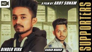 Supporters Binder Virk Karan Manku Free MP3 Song Download 320 Kbps
