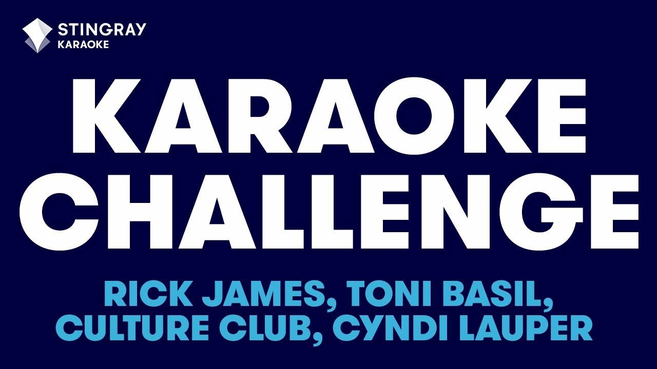 '80s MUSIC KARAOKE CHALLENGE 🎤 FRIDAY NIGHT KARAOKE PARTY 🎶 BEST OF '80s KARAOKE WITH LYRICS