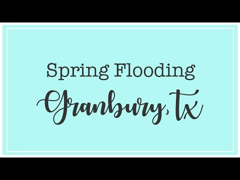 Granbury Flooding May 2016