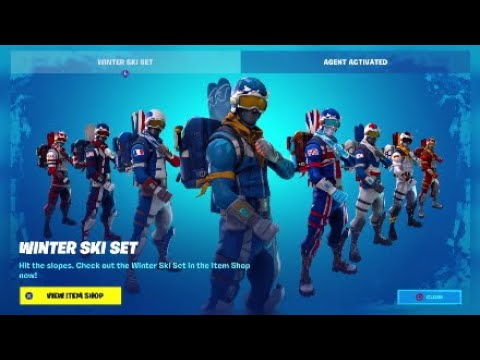 ALPINE ACE *RETURNS*!! Before You Buy!!|Fortnite Battle Royale Winter Ski Set Full Showcase