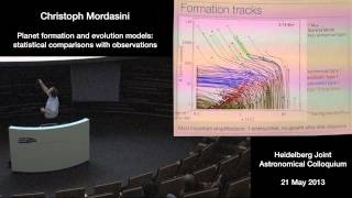 Christoph Mordasini - Planet formation and evolution models