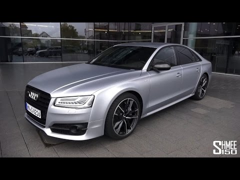 Road Test and Full Tour of the Audi S8 Plus