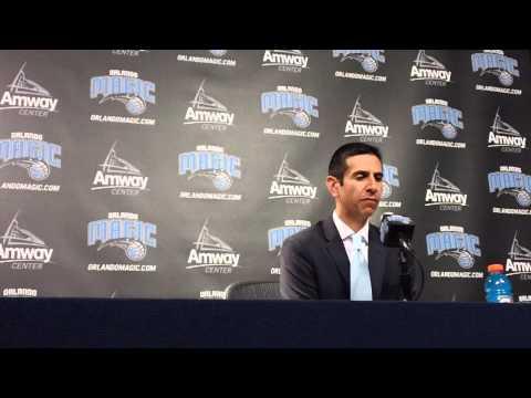 James Borrego Cleveland Cavaliers Postgame Interview