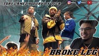 Tory Lanez - Broke Leg Feat. Quavo & Tyga [Official Video] | REACTION
