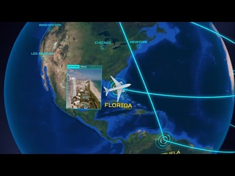 Airline Routes & Network Lines On Earth Animation - After Effects Template