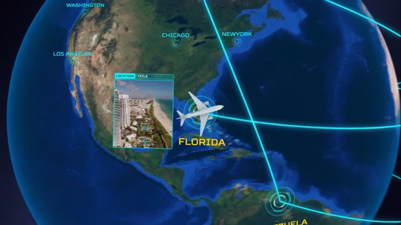 Airline routes network lines on earth animation after effects airline routes network lines on earth animation after effects template sciox Gallery