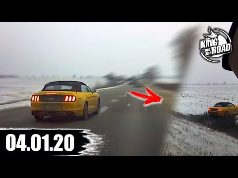 04.01.2020 How To Not Drive On Russian Roads January 2020/Car Accident