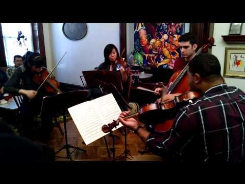 Groupmuse chamber music brunch