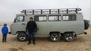 Как делают тюнинг УАЗиков в Монголии.