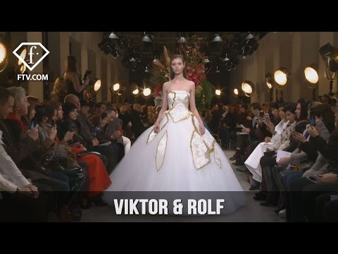 Paris Couture Spring/Summer 2017 Viktor & Rolf | FashionTV