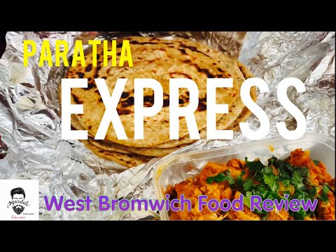 Paratha Express | West Bromwich | Desi Breakfast | Food Review | Pure Veg | Birmingham Bearded Broz
