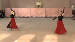 """Показательные """"Танго"""".  """"Весняні ластівки 2015"""" г.Чернигов Художественная гимнастика"""