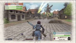 Valkyria Chronicles Gameplay - HD Test