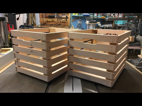 Crates from 2x4's