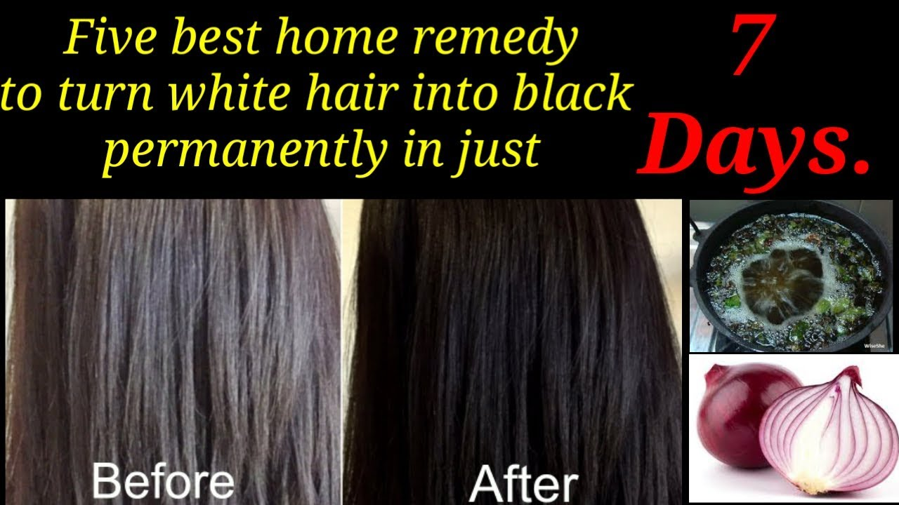 home remedies for grey hair turns into black fast | can grey hair be ...