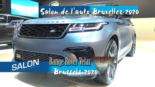 2020 Range Rover VelarSV Autobiography Dynamic Edition 550 pk walkaround salon de l'auto bruxelles