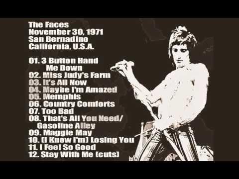 Faces 1971 11 30 San Bernadino CA