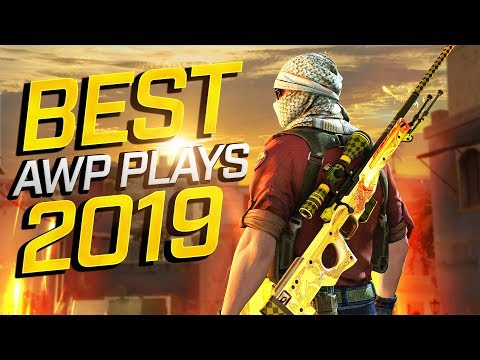 BEST CS:GO PRO AWP PLAYS 2019