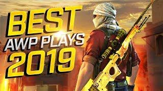 BEST CS:GO PRO AWP PLAYS 2019
