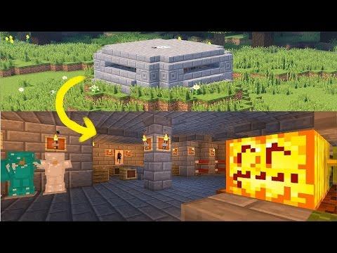 Как построить ВОЕННЫЙ БУНКЕР В MINECRAFT! ВПЕРВЫЕ НА ЮТУБЕ!