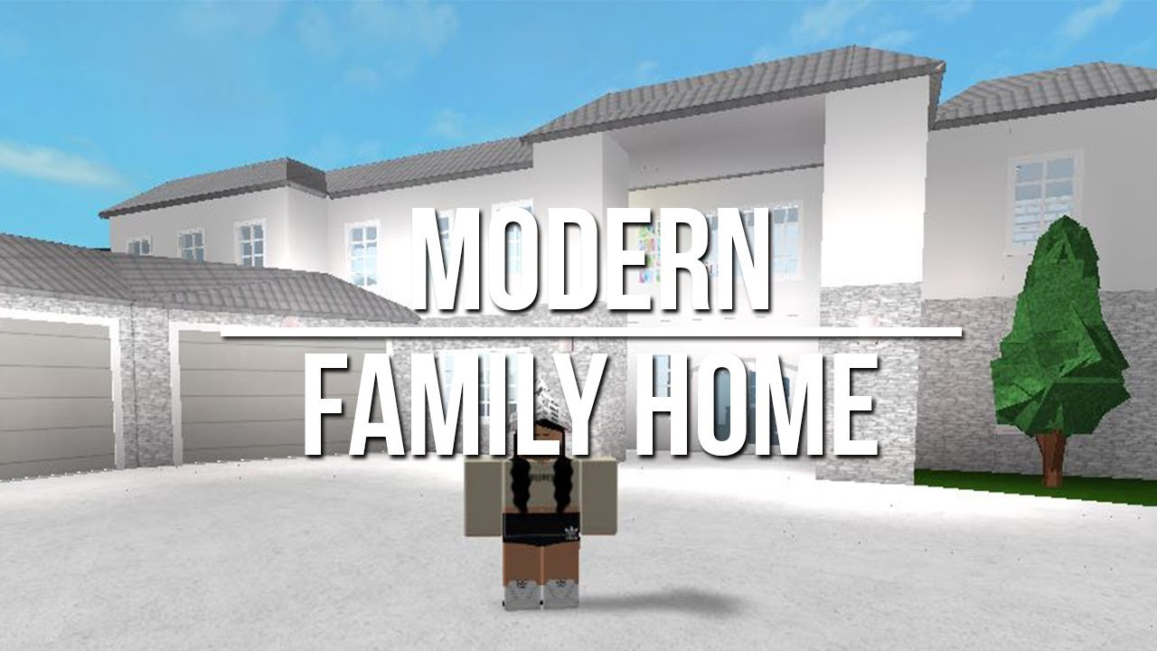 Modern Family Home Youtube Roblox