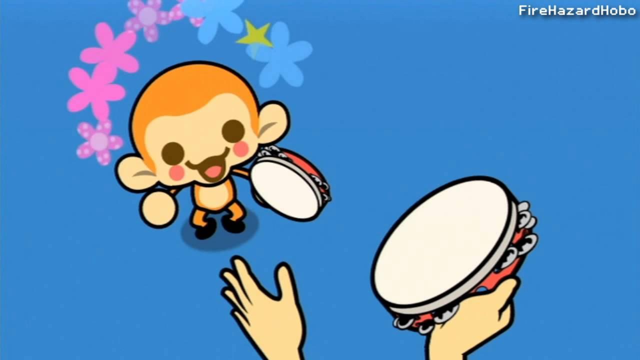 Minna No Rhythm Tengoku Rhythm Heaven Wii Tambourine