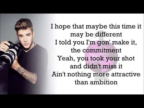 Justin Bieber - One Life (with Lyrics)