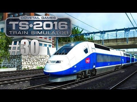 Train Simulator 2016: TGV von Marseille nach Avignon #030 -