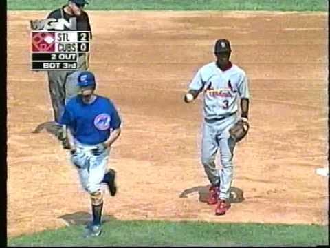 Dusty Baker-Tony La Russa spat, Cubs-Cardinals, Sept. 3, 2003