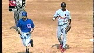Dusty Baker-Tony La Russa spat, Cubs-Cardinals, Sept. 3, 2003