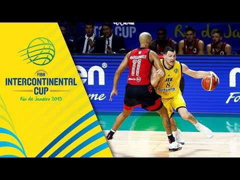 AEK v Flamengo - Condensed Game - Final - FIBA Intercontinental Cup 2019