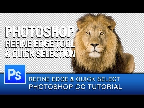 Photoshop Refine Edge Masking Tutorial | Photoshop CC - YouTube