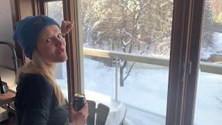 Vlog #2 :   nouvel an au chalet au Québec (Stoneham)